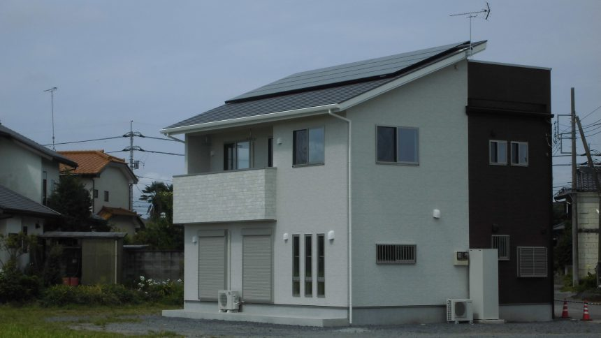 株式会社ソーラー・ブレス:太陽光発電パネル設置(パナソニック)さくら市H様5.85KW