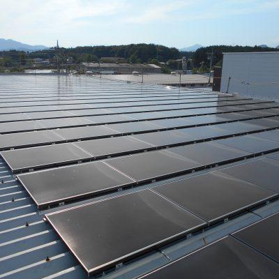 太陽光発電パネル設置(ソーラーフロンティア)鹿沼市U製作所45.54KW - 株式会社ソーラー・ブレス - 施工事例