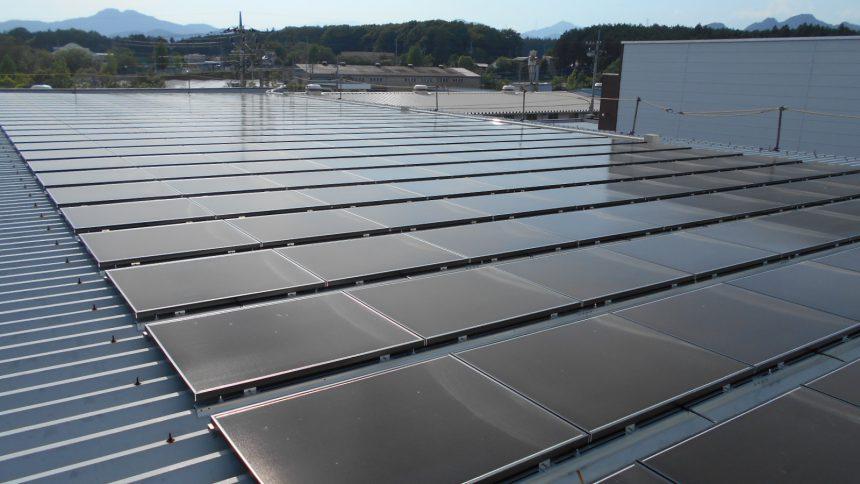 株式会社ソーラー・ブレス:太陽光発電パネル設置(ソーラーフロンティア)鹿沼市U製作所45.54KW