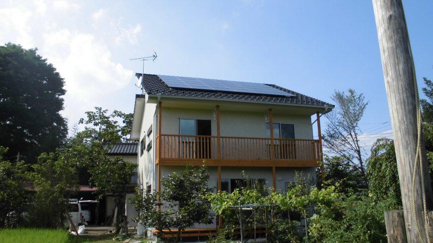 株式会社ソーラー・ブレス:太陽光発電パネル設置(シャープ)大田原市O様5.25KW