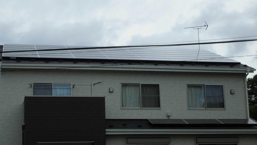 株式会社ソーラー・ブレス:太陽光発電パネル設置(パナソニック)市貝町K様10.8KW