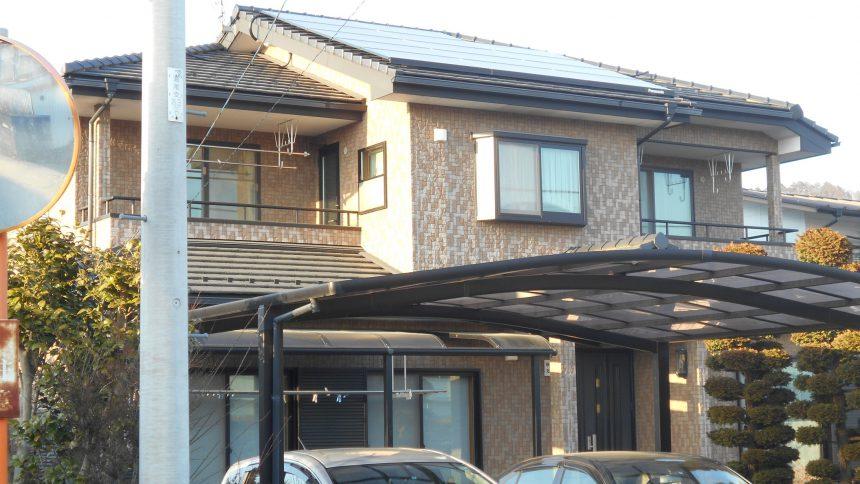 株式会社ソーラー・ブレス:太陽光発電パネル設置(パナソニック) 日光市 A様 5.36kw