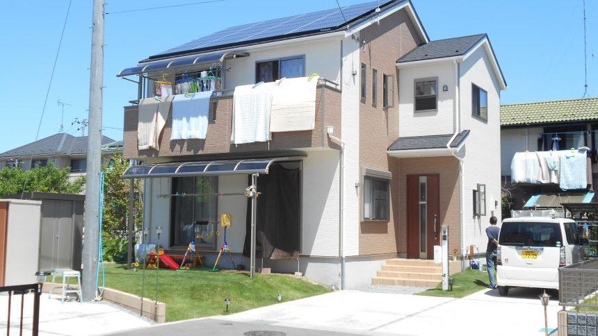 株式会社ソーラー・ブレス:下野市 S様 太陽光発電システム工事