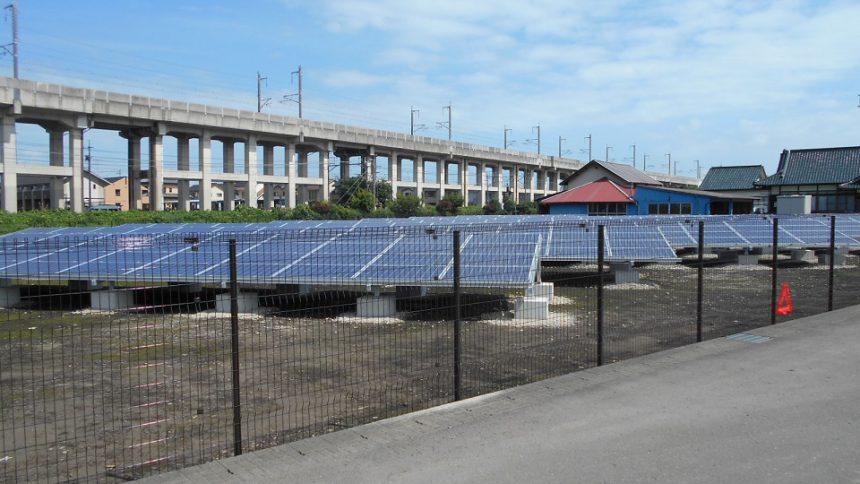 株式会社ソーラー・ブレス:太陽光発電設置工事(シャープ) 下野市 Y様野立て 98.88kw part8