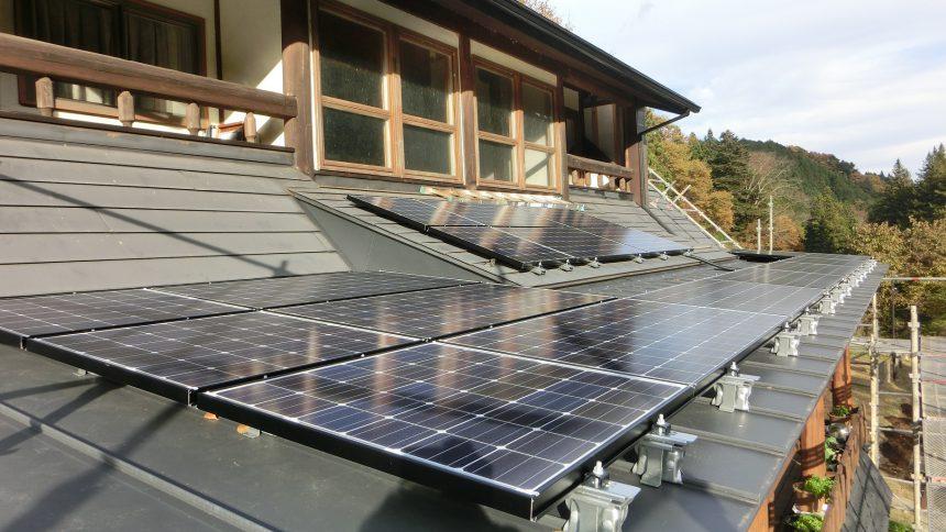 株式会社ソーラー・ブレス:太陽光発電パネル設置(パナソニック) 日光市 H様 4.03kw
