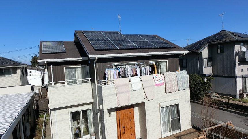 株式会社ソーラー・ブレス:太陽光発電パネル設置(パナソニック) さくら市 H様 5.14kw