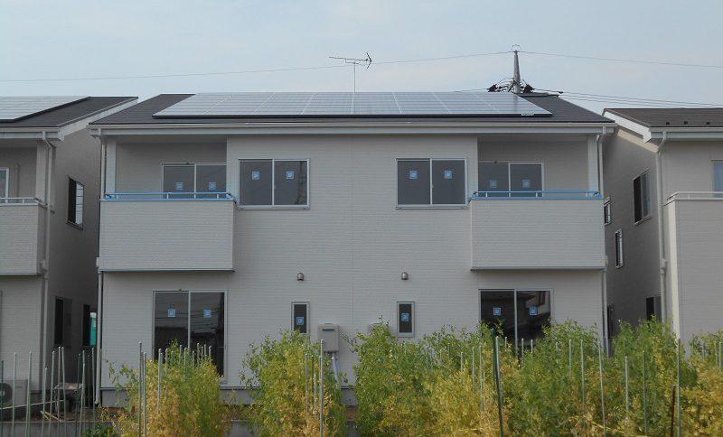 株式会社ソーラー・ブレス:太陽光発電パネル設置(シャープ) 宇都宮市 M様 11.2kw