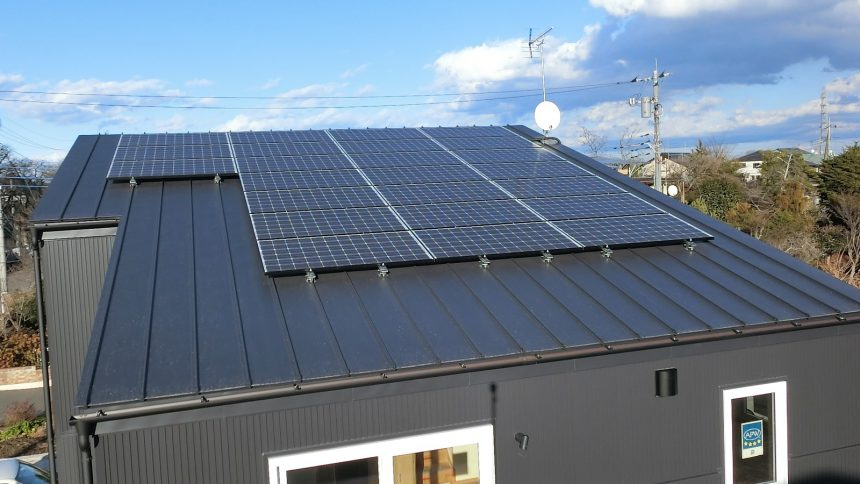 株式会社ソーラー・ブレス:太陽光発電システム設置工事 高根沢町 M様 5.88kw