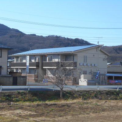 太陽光発電システム設置工事 (長州産業) 栃木市 K様アパート 29.92kw - 株式会社ソーラー・ブレス - 施工事例
