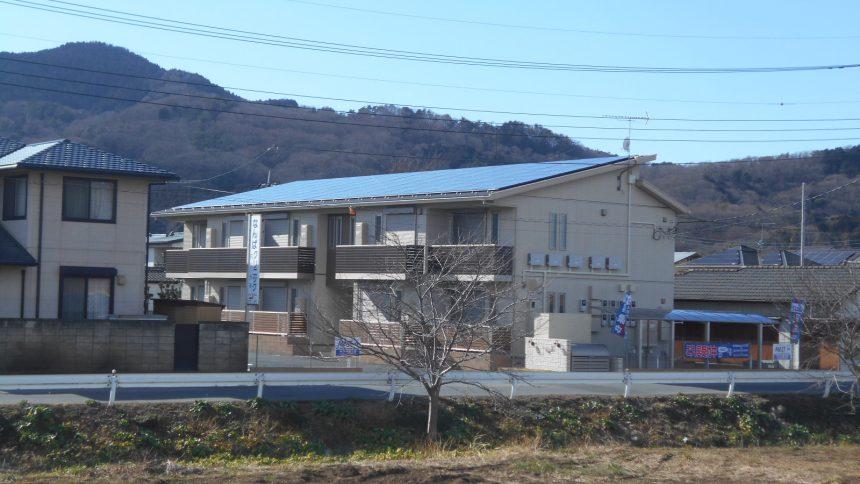 株式会社ソーラー・ブレス:太陽光発電システム設置工事 (長州産業) 栃木市 K様アパート 29.92kw