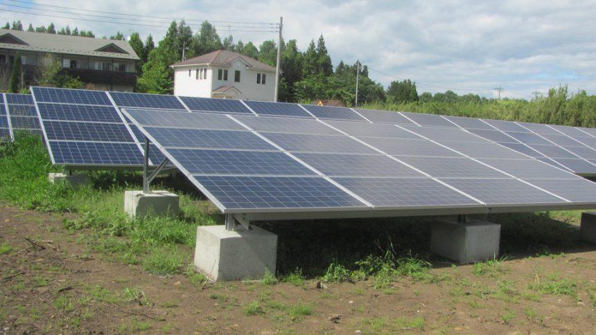 株式会社ソーラー・ブレス:太陽光発電システム設置工事 那須町 F様 82.68kw №4