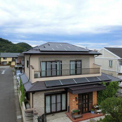 太陽光発電システム設置工事 足利市 K様 4.9kW - 株式会社ソーラー・ブレス - 施工事例