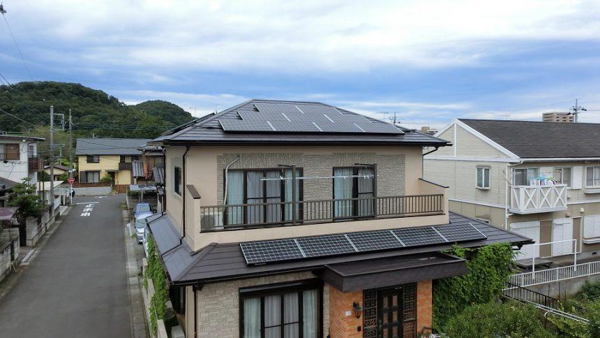 株式会社ソーラー・ブレス:太陽光発電システム設置工事 足利市 K様 4.9kW