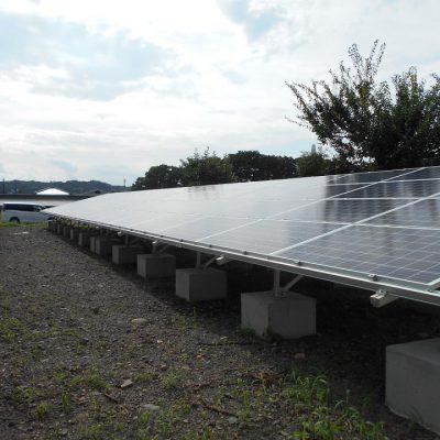 太陽光発電システム設置工事 那須烏山市 Y様 76.32kw №2 - 株式会社ソーラー・ブレス - 施工事例