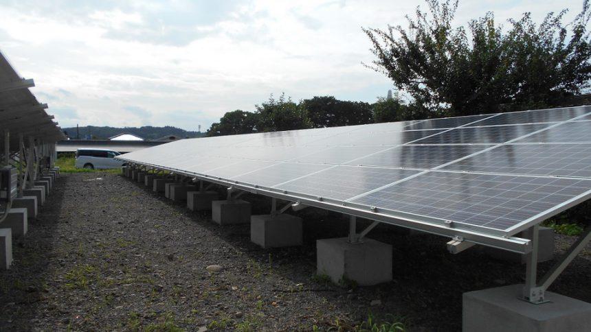 株式会社ソーラー・ブレス:太陽光発電システム設置工事 那須烏山市 Y様 76.32kw №2