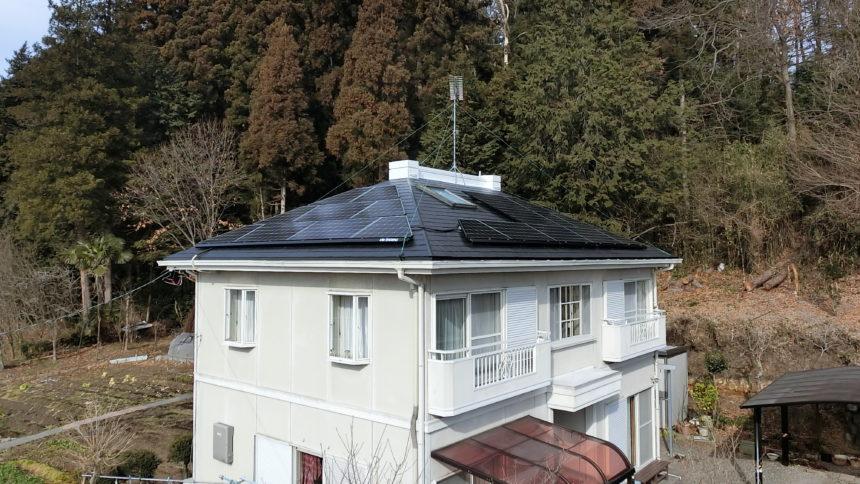 株式会社ソーラー・ブレス:太陽光発電パネル設置(長州産業) 矢板市 M様 3.34kw