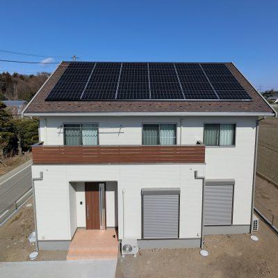 太陽光発電(長州産業)群馬県邑楽郡 S様 7.5kw - 株式会社ソーラー・ブレス - 施工事例
