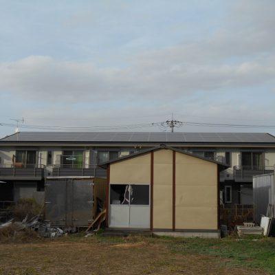 太陽光発電(長州産業)那須塩原市S様アパート30kW - 株式会社ソーラー・ブレス - 施工事例