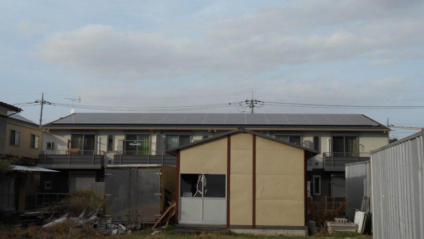 株式会社ソーラー・ブレス:太陽光発電(長州産業)那須塩原市S様アパート30kW
