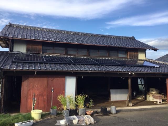 株式会社ソーラー・ブレス:太陽光発電(長州産業)茨城県 結城市 Y様 3.0kW
