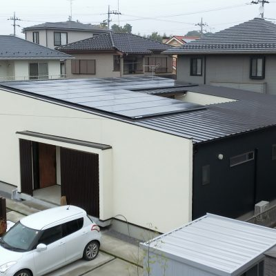 太陽光発電(長州産業)下野市 N様 13.07kW - 株式会社ソーラー・ブレス - 施工事例