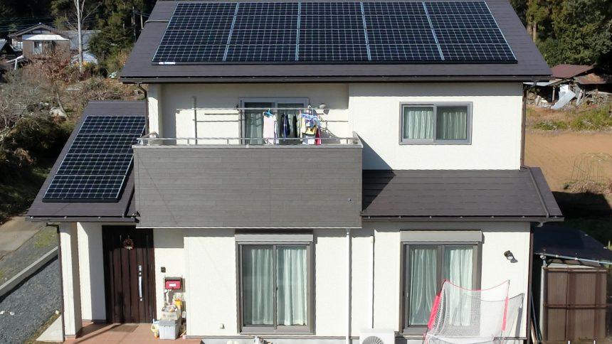 株式会社ソーラー・ブレス:太陽光発電(長州産業)茨城県 笠間市 F様 6.0kW