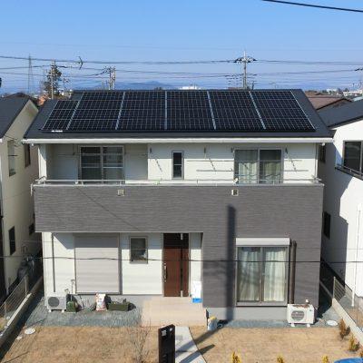 太陽光発電(長州産業)太田市 I様 5.36kW - 株式会社ソーラー・ブレス - 施工事例