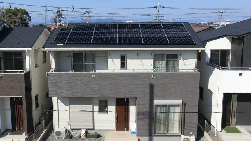 株式会社ソーラー・ブレス:太陽光発電(長州産業)群馬県 太田市 I様 5.36kW