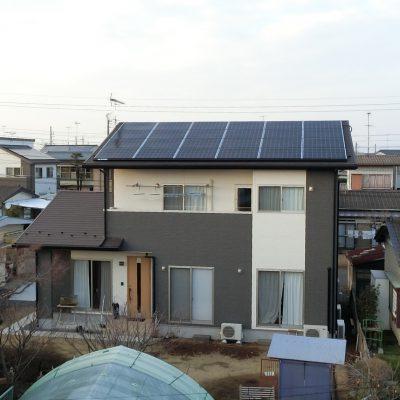 太陽光発電(長州産業)結城市 S様 6.57kW - 株式会社ソーラー・ブレス - 施工事例