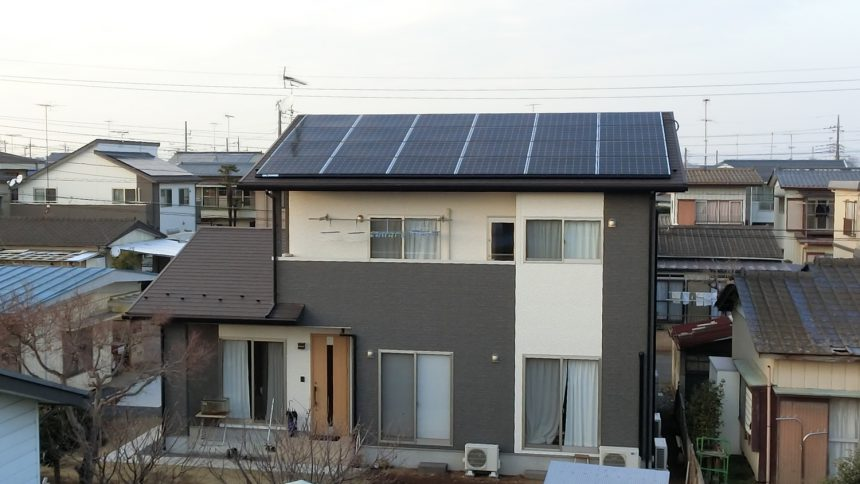 株式会社ソーラー・ブレス:太陽光発電(長州産業)茨城県 結城市 S様 6.57kW