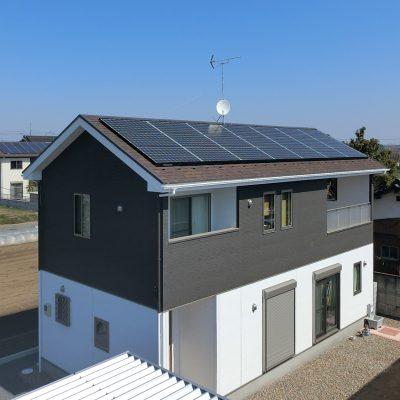 太陽光発電(パナソニック)古河市 K様 5.25kW - 株式会社ソーラー・ブレス - 施工事例