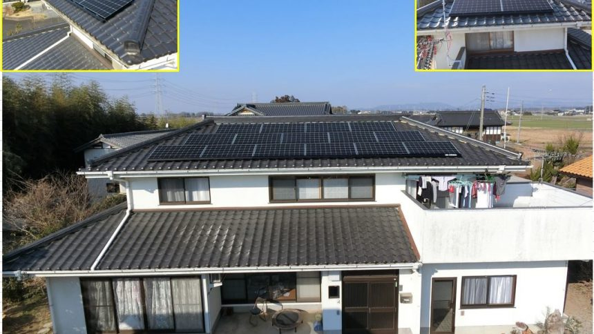 株式会社ソーラー・ブレス:太陽光発電(長州産業)茨城県 筑西市 S様 5.25kW