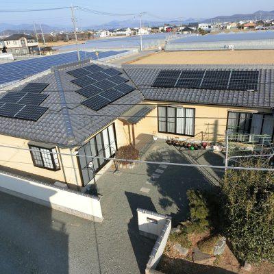 太陽光発電(長州産業)みどり市 O様 7.6kW - 株式会社ソーラー・ブレス - 施工事例