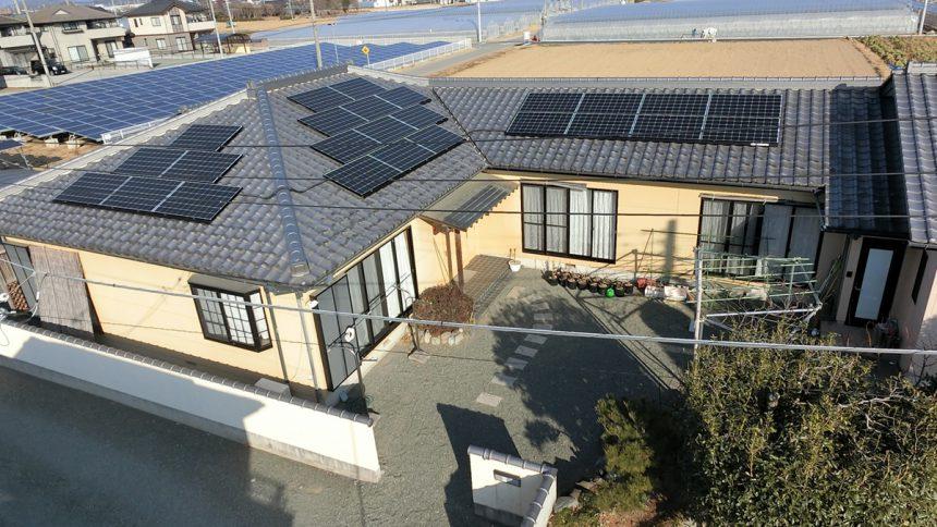 株式会社ソーラー・ブレス:太陽光発電(長州産業)群馬県 みどり市 O様 7.6kW