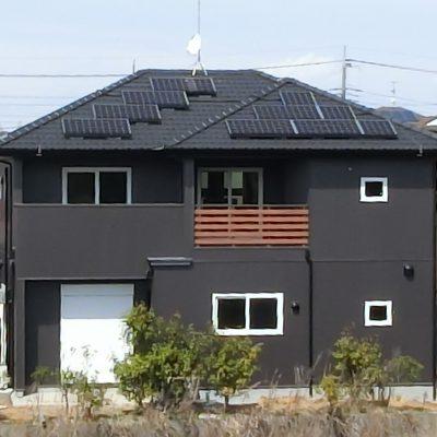 太陽光発電(長州産業)茨城県 筑西市 H様 5.48kW - 株式会社ソーラー・ブレス - 施工事例