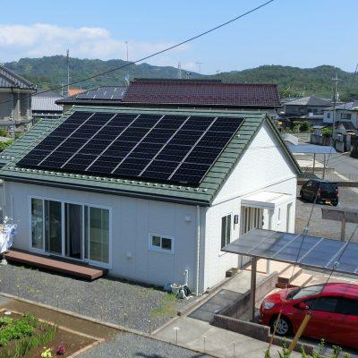 太陽光発電(シャープ)栃木県 佐野市 A様 6.3kW - 株式会社ソーラー・ブレス - 施工事例
