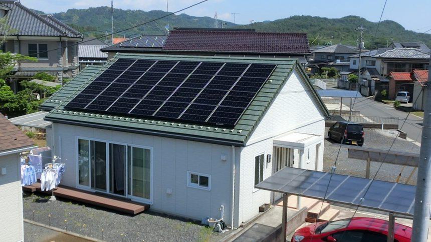 株式会社ソーラー・ブレス:太陽光発電(シャープ)栃木県 佐野市 A様 6.3kW