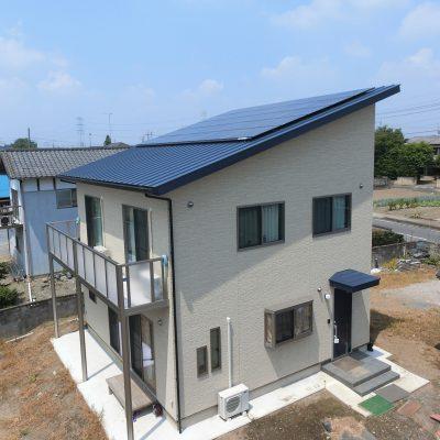 太陽光発電(長州産業)茨城県 結城郡八千代町 I様 6.85kW - 株式会社ソーラー・ブレス - 施工事例