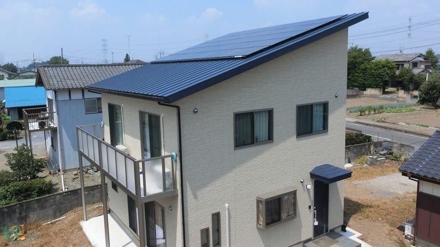 株式会社ソーラー・ブレス:太陽光発電(長州産業)結城郡 I様 6.85kW