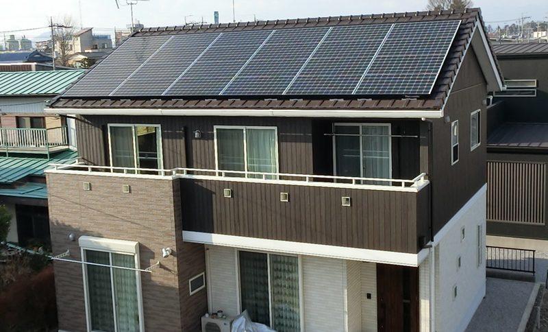 株式会社ソーラー・ブレス:太陽光発電(パナソニック)さくら市 T様 6.04kW