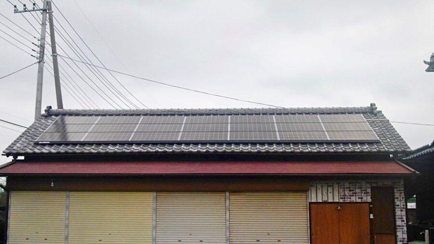 株式会社ソーラー・ブレス:太陽光発電(長州産業)佐野市 N様 5.46kW